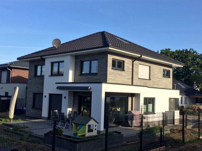 Rückseite Einfamilienhaus in Ibbenbüren
