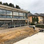 Neubau EFH an einem Hang in Rheinland-Pfalz