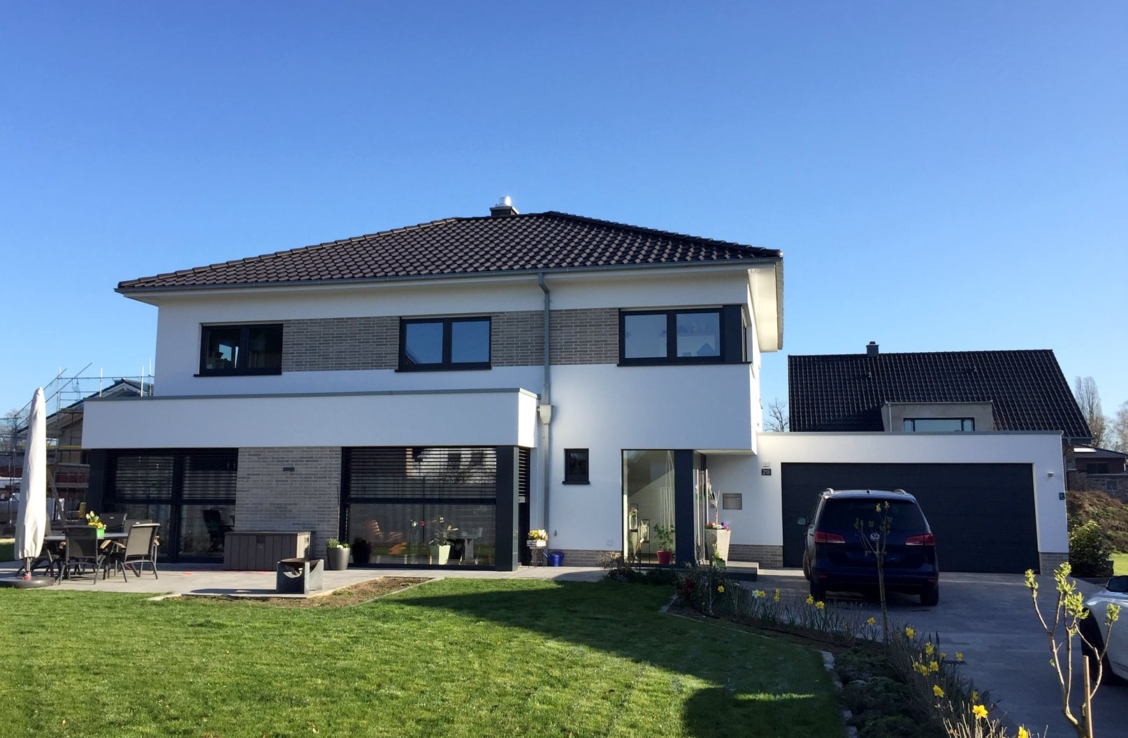 Neubau EFH mit Doppelgarage inNRW