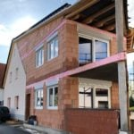 Wohnhaus-Erweiterung zu zwei Wohneinheiten in Hessen