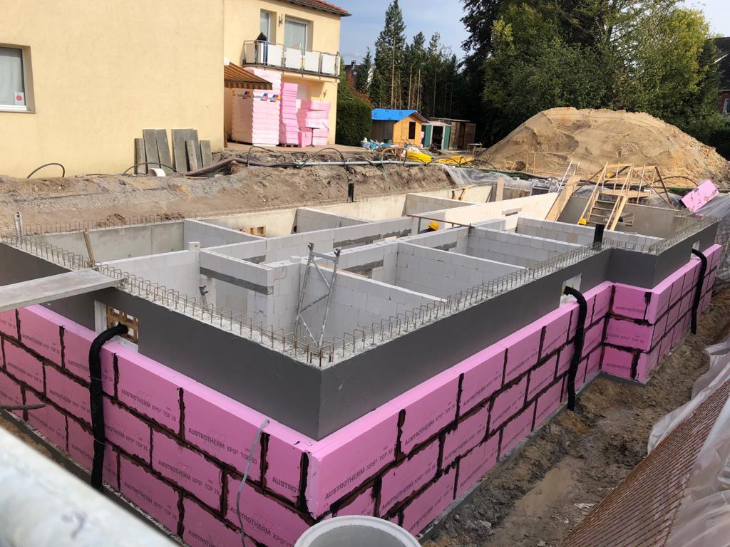 Neubau Mehrfamilienhaus im Münsterland mit 3 Wohneinheiten