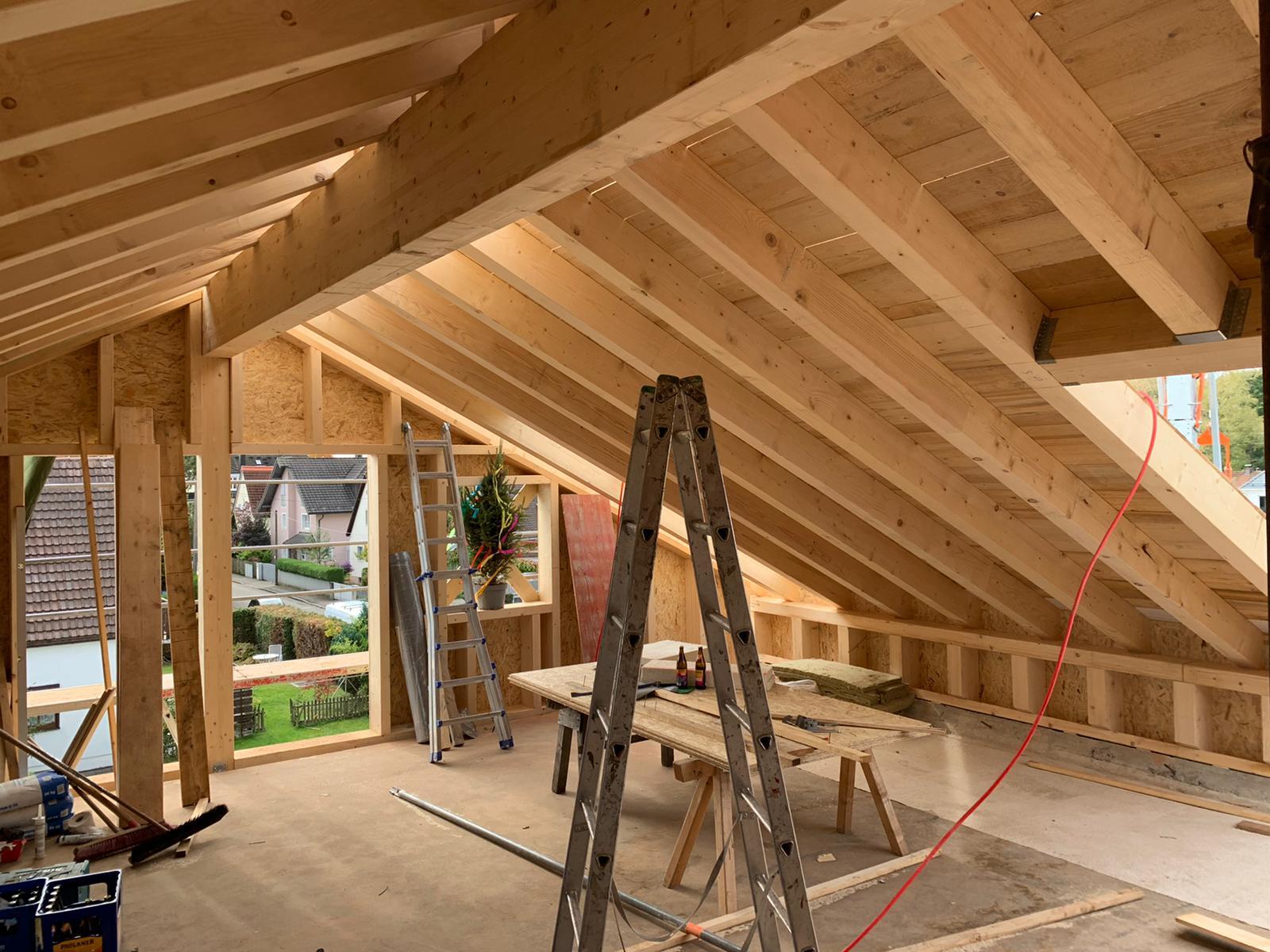 Umbau eines Einfamilienhauses in München