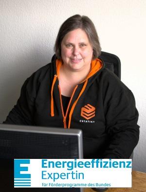 Energieffizienz-Expertin des Bundes